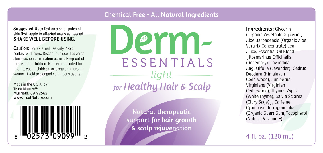 Derm-Essentials for Healthy Hair and Scalp