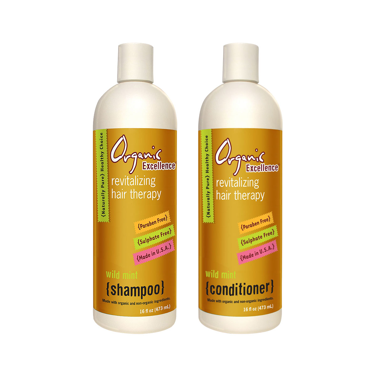 Truly Organic Natural Shampoo And Conditioner